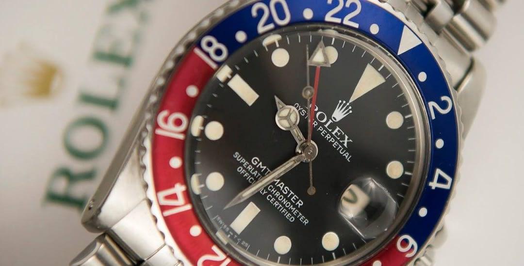 """""""Birth Year Watch"""" Rolex GMT-Master ref. 16750"""